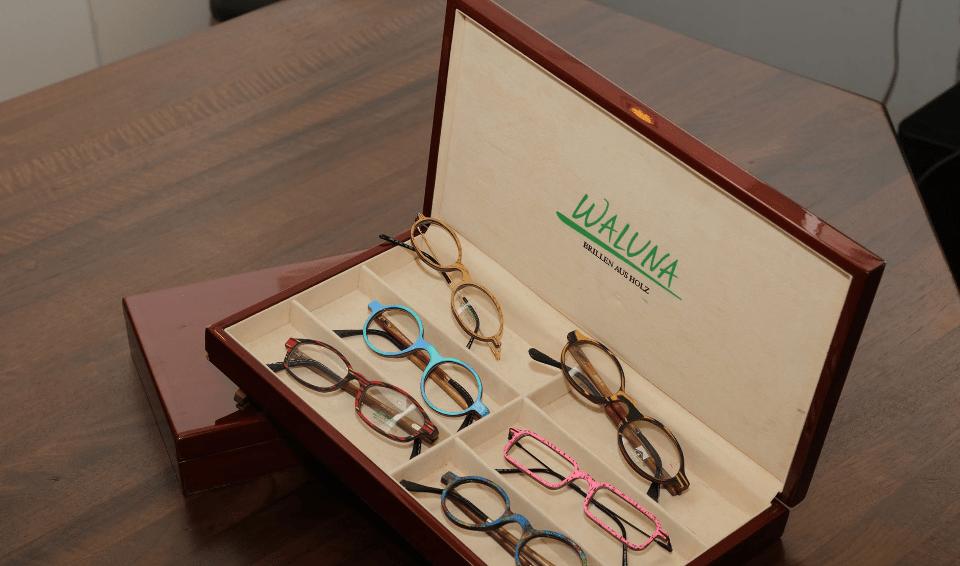 Dunsai Holzbrillen